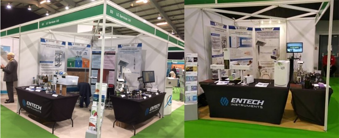 LC Services Stand at AQE show