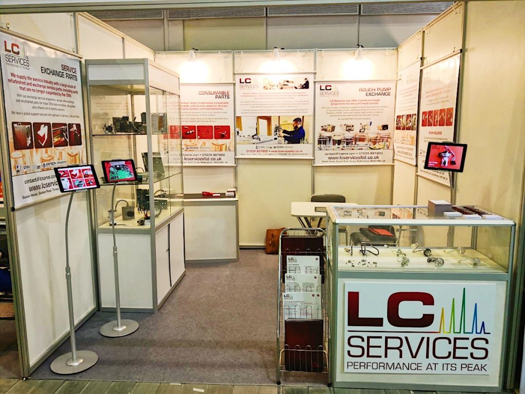 LC Services Stand at Analytical Vietnam